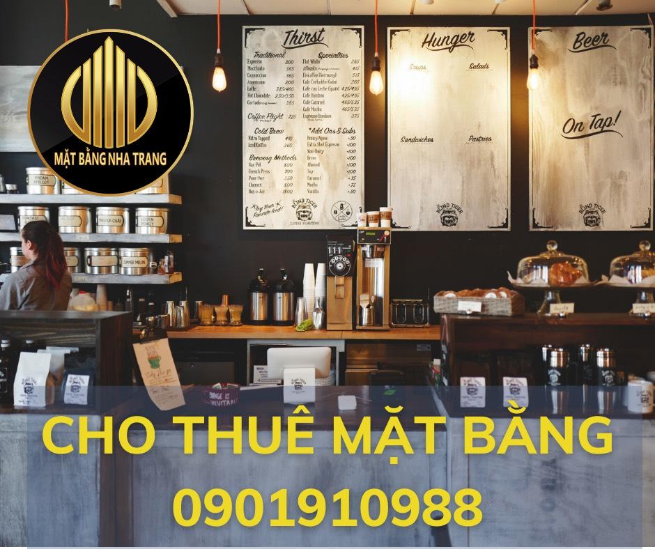 Sang nhượng quán cafe 200m2 ngay trung tâm TP Nha Trang chỉ cần 370tr