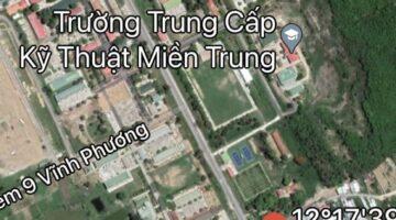 Cho thuê đất tại Nha Trang chỉ 12tr/tháng ngay mặt tiền đường Nguyễn Xiển